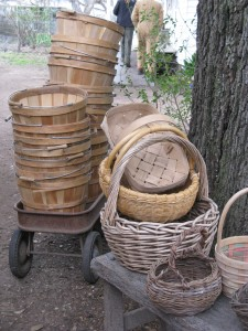 Baskets abound in East Austin's Boggy Creek Farms