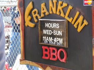 Franklin BBQ in Cherrywood East Austin